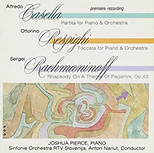 Toccata for Piano / Rhapsody on Theme of Paganini