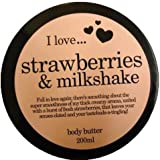 I Love Strawberries & Milkshake Body Butter 200ml