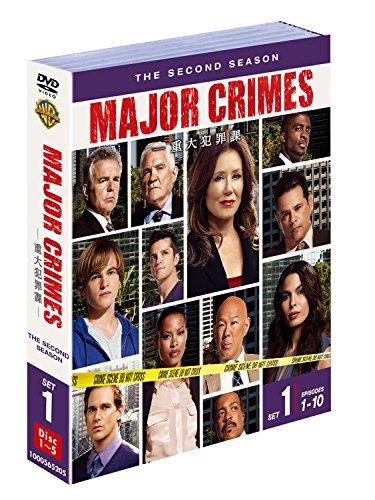 MAJOR CRIMES ~重大犯罪課 〈セカンド〉 セット1(5枚組) [DVD]
