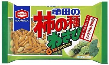 亀田製菓 亀田の柿の種わさび6袋詰 210g×12袋