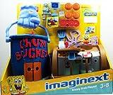 Fisher Price - Imaginext - Spongebob Squarepants Exclusive - Krusty Krab Playset - includes Spongebob & Plankton with Exo Suit - W9639