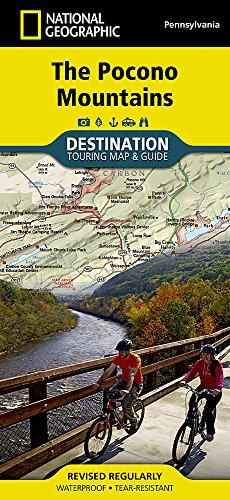 Pocono Mountains (National Geographic Destination Map)