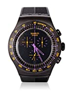 Swatch Reloj de cuarzo Man PURPLE IN DARK YOB102 47 mm