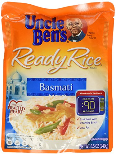 Uncle Ben's Basmati Ready Rice - 1