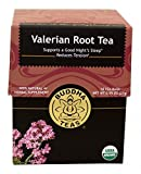Valerian Root Tea - Organic Herbs - 18 Sachets Bleach Free Tea Bags From Buddha Teas