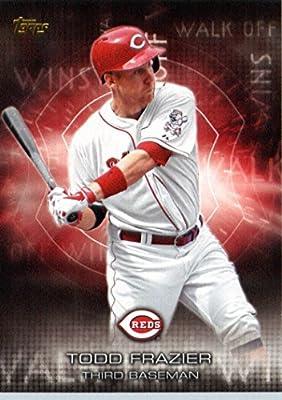 2016 Topps Walk Off Winners #WOW-11 Todd Frazier Cincinnati Reds Baseball Card-MINT