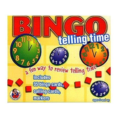 Bingo Telling Time Ages 5 & Up - 1
