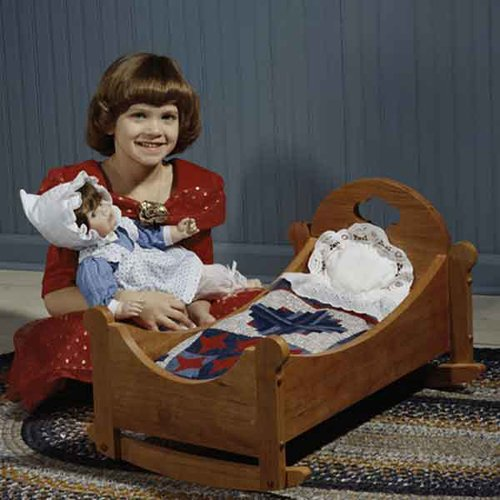 Sweet-Dreams Doll Cradle: Downloadable Woodworking Plan