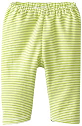 Zutano Unisex Baby Candy Stripe Pant, Lime, 12 Months