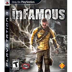 51LO1  tmOL. SL500 AA300  Infamous For PS3   $30