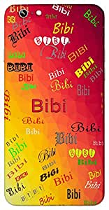 Bibi (Lady Woman Full of Life Lady of the House Alive Foregin Woman) Name & Sign Printed All over customize & Personalized!! Protective back cover for your Smart Phone : Samsung Galaxy S6 Edge