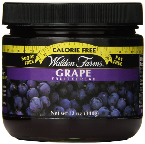 Walden Farms Fruit Spread, Grape, 12 Ounce