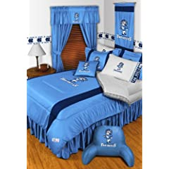 North Carolina Tar Heels QUEEN Size 15 Pc Bedding Set (Comforter, Sheet Set, 2 Pillow... by Sports Coverage