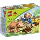 Lego - 5643 - Jeu de Construction - Duplo LegoVille - Le Fermier et Son Cochon