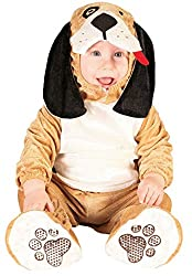Baby Girls Boys Brown Puppy Dog Animal Halloween Christmas Carnival Book Day Fancy Dress Costume Outfit
