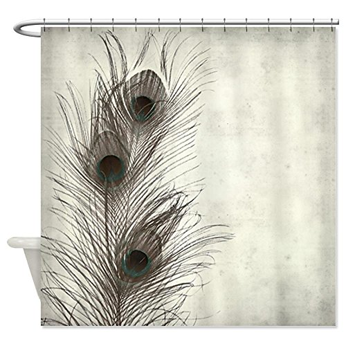 Beautiful Black and White Peacock Shower Curtain - Best Reviews cover image