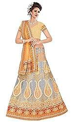 Vaishali TexStile Women's Net Unstitiched Dress Material 1074_Multicolor
