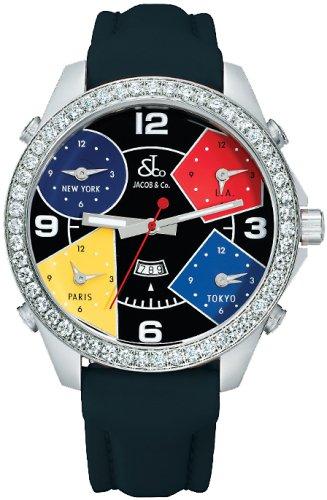 [ジェイコブ]JACOB&Co. 腕時計 ファイブタイムゾーン JC-11D クォーツ メンズ  [並行輸入品]