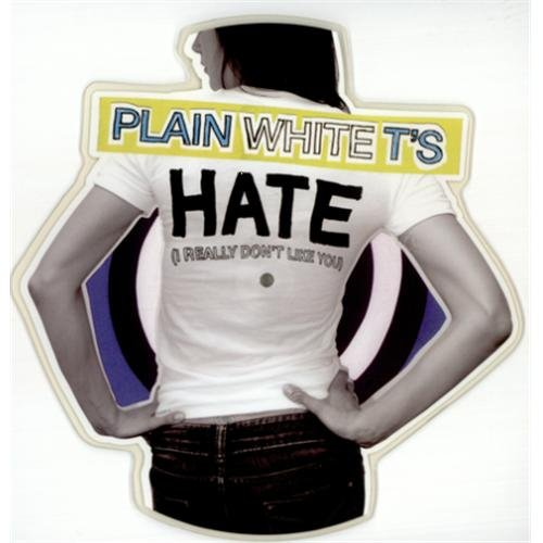 Hate (I Really Don't Like You) Special Shape Vinyl Import