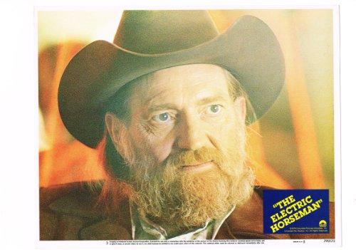 The Electric Horseman Willie Nelson Original Portrait Photo 11X14 Lobby Card