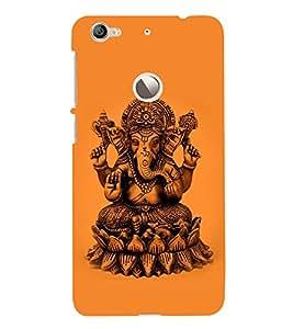 Snapdilla Hindu Religious Lord Ganesha Idol Ganapathi Bappa Moriya Phone Case for Letv LeEco Le 1s