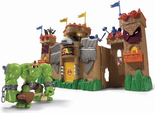 Toy Castles For Boys : Fisher price eagle talon castle playset