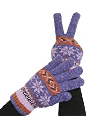 Unisex Gloves, Super Warm, Double-Layered