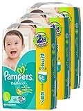 【ケース販売】 パンパース おむつ Lサイズ (9~14kg) テープ さらさらケア 204枚  (68枚×3パック)