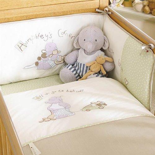 Izziwotnot Humphrey's Corner Humphrey's Bedtime 5 Piece Coverlet Bedding Bale, Cot/Cot Bed