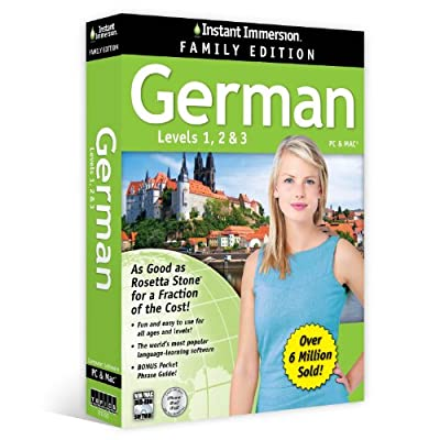 Instant Immersion German Family Edition Levels 1,2,3