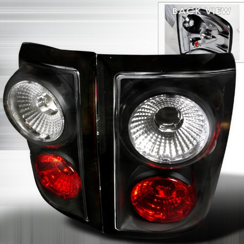 ford f150 2001 2003 ford f150 altezza tail light black flare side. Black Bedroom Furniture Sets. Home Design Ideas