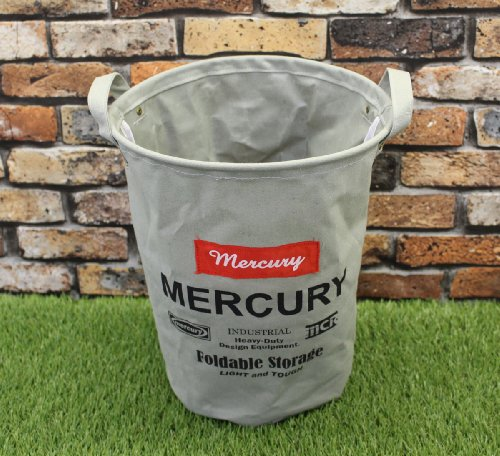 【MERCURY】Canvas Bucket M GRAY C209GY