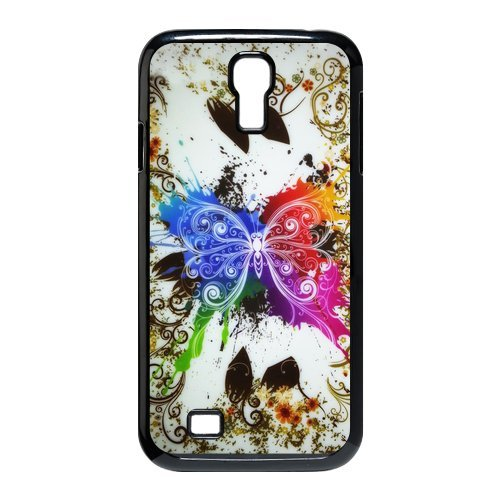 Generic Cell Phone Cases Cover For Samsung Galaxy S4 Case I9500 Case Fashionable Art Designed With Beautiful Butterfly - K Personalized Shell front-851316