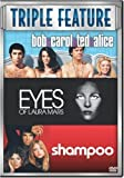 Bob & Carol & Ted & Alice (1969)/Eyes of Laura Mars/Shampoo (Multi Feature, 3 discs)