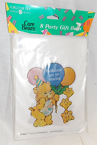 Care Bears Birthday Bear Package of 8 Party Gift Bags - 1