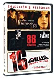 Pack: Asesinato... 1-2-3 + 88 Minutos + 16 Calles [DVD]