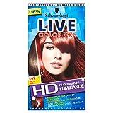 3 x Schwarzkopf Live Luminance L42 Infra Red Lightening Colourant