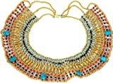 Medium Size CLEOPATRA SCARAB BELLY DANCE ORIENTAL NECKLACE CLEOPATRA GYPSY B20