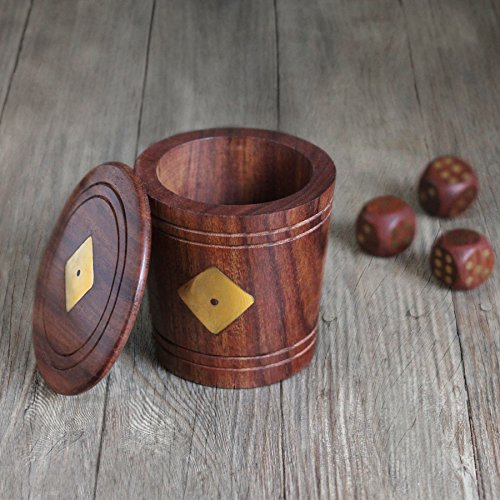 christmas-gifts-sale-store-indya-wooden-dice-shaker-cup-for-family-includes-5-wooden-dice