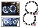 #5: AutoSun White Angel Eyes SMD LED Ring Light Devil Light (set of 2)