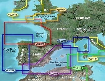 MapSource BlueChart g2 - HXEU011R - côte Sud de la France et de la Corse