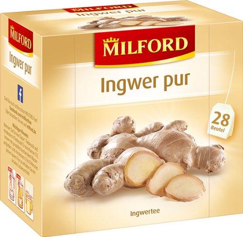Milford Ingwer pur 28 x 2.00 g, 6er Pack (6 x 56 g)