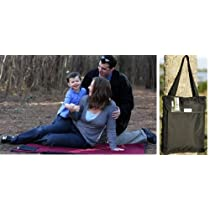 Waterproof Picnic Stadium Blanket Tote