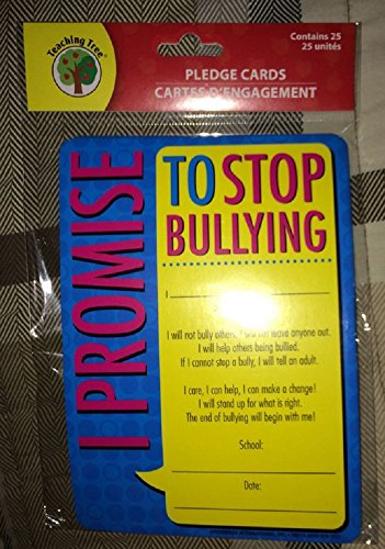 Stop Bullying Cards (25 Per Set) School Supplies/Education/Paper Supplies/Teaching - 1