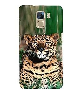 EPICCASE Cheetah Mobile Back Case Cover For Huawei Honor 7 (Designer Case)