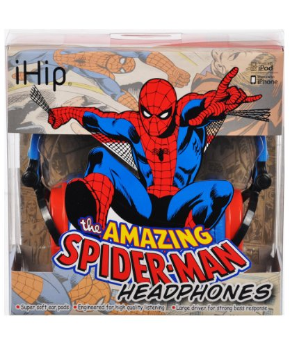 Ihip Spider-Man Xl Headphones - Colors May Vary, One Size
