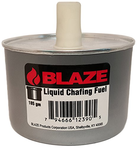 Blaze Products LB300L 6 Hour Wick Chafing Dish Fuel, twist off cap, 24 Count