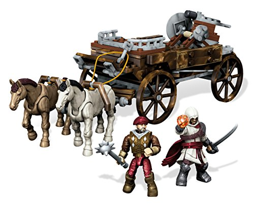 Mega Bloks Assassin's Creed Chariot Chase Building Set