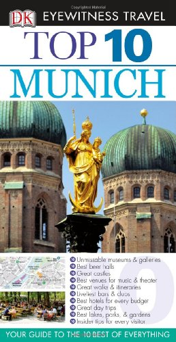 DK Eyewitness Travel Guide to Munich (Top 10)