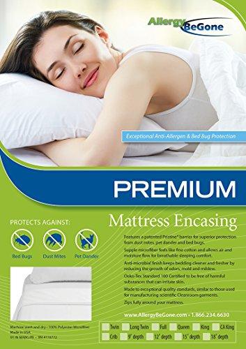 Pristine Premium Dust Mite & Allergen Proof Mattress Encasing For Crib
